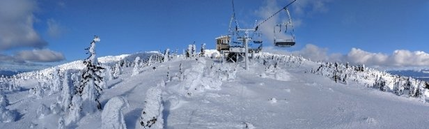 Big White - Cold and windy, but otherwise great - © anonymous