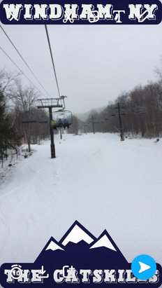 Windham Mountain - 2/2/17- Powder, Powder, Powder. Fantastic conditions!!! Every run had soft powder just amazing. Thanks Windham!!! - © iPhone (2)