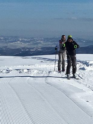 Lurisia - Monte Pigna - Lurisia pigna bellissima tanta neve poca coda alle risalite uno spettacolo   - © iPhone