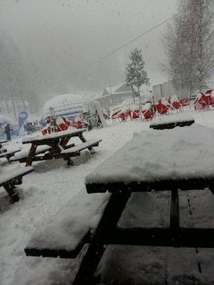 Bardonecchia - ottima neve a parte la scarsa visibilità - © ste.rs125