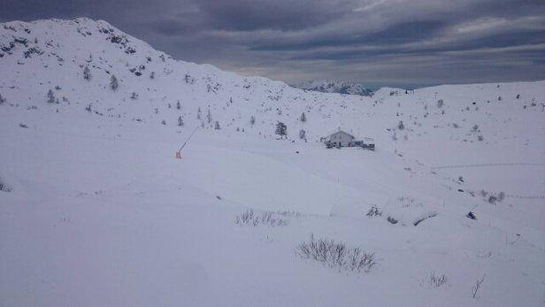Piani di Bobbio e  Valtorta - bellissima neve fresca e in pista - © lerry
