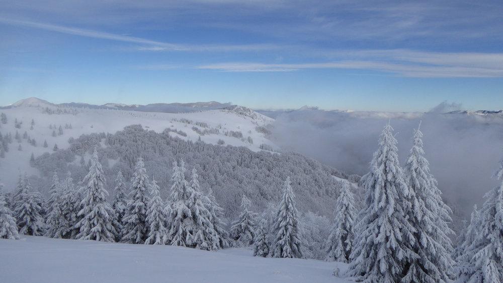 Donovaly after snowfall (2.2.2017) - ©PARK SNOW Donovaly