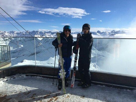 Oberstdorf - Nebelhorn - Gute Schneeverhaeltnisse und gutes   Wetter  - © torolv.prokosch