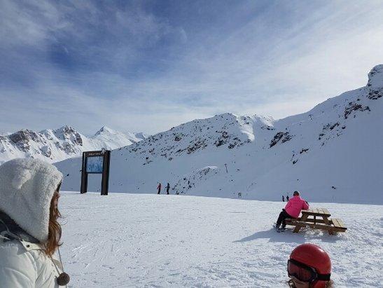Courchevel - super journée au sommet soleil neige fraîche tout était au rendez vous pour une journée d'enfer   - © snoop91