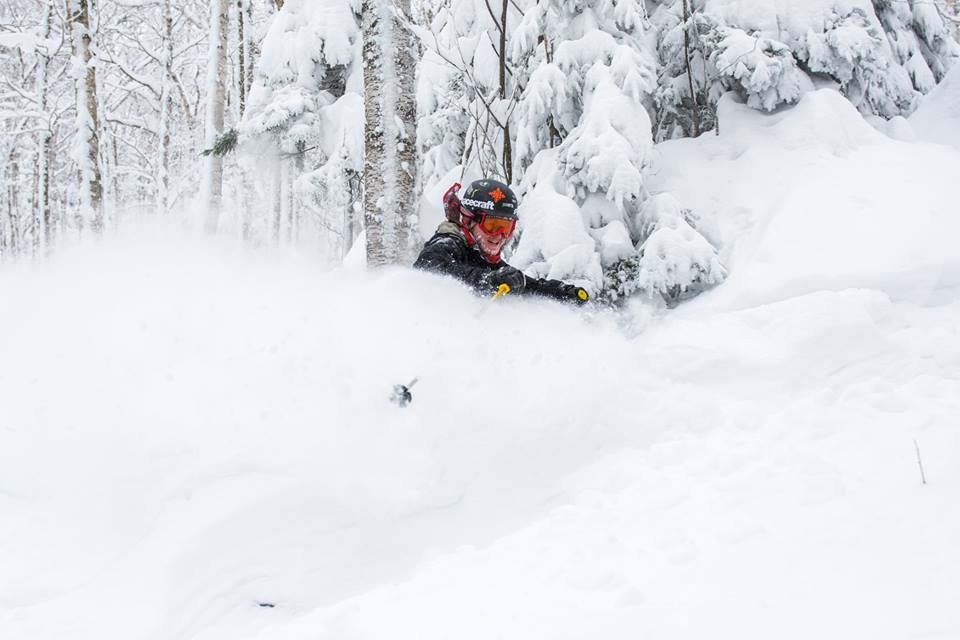 Burke Mountain received 54 inches in just seven days. - © Burke Mountain