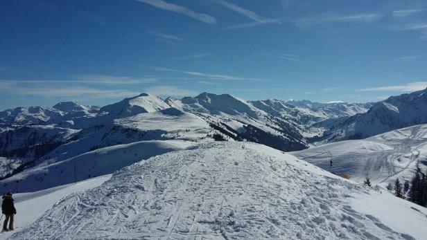 Ski Juwel Alpbachtal Wildschönau - Schnee gut in der WSA. Im Alpbachtal weniger gut präpariert.  - © dadaniel88