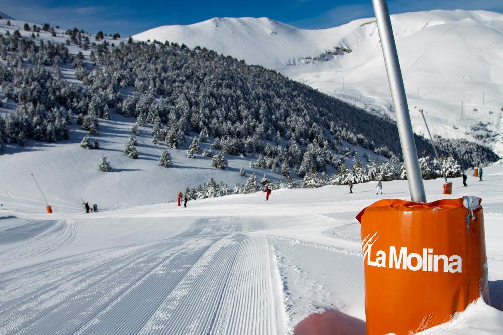 Sur les pistes de ski de La Molina - © Station de ski de La Molina