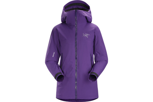 Arc'teryx Airah Jacket: $599 This 17/18 season insulated shell from Arc'teryx bucks the notion that you can't have it all in one. For females getting after it in the backcountry, the jacket features 2L GORE-TEX for a lightweight, waterproof/breathable shield over 80 g/m2 Polartec Alpha insulation with an air-permeable liner. Said to weigh about 2/3 of a comparable shell/mid-layer combo and pack down like a champ, layers better beware. - ©Arc'teryx