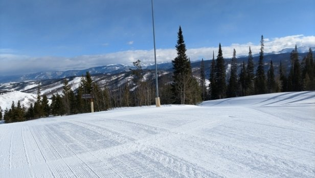Ski Granby Ranch - Such a great day, short lines and QuickDraw is up . No wind  - © anonymous