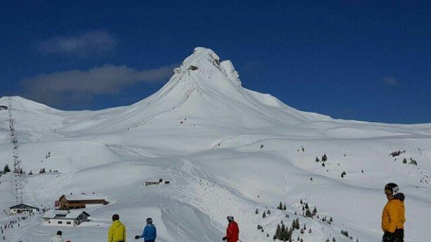 Damüls - Super Schnee  - © wippklein