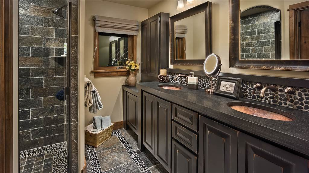 The HGTV-worthy master bathroom is so luxurious, it's ruined showering forever.