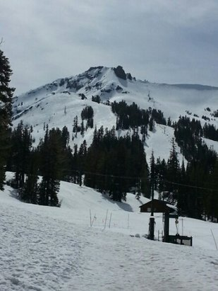Kirkwood - To warm. 50 at noon. Best at 9- 10 AM. Bright and beautiful! - © Bob