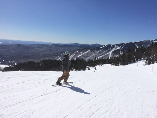 Stowe Mountain Resort - These are the spring days we're here for...  - © Hammertime