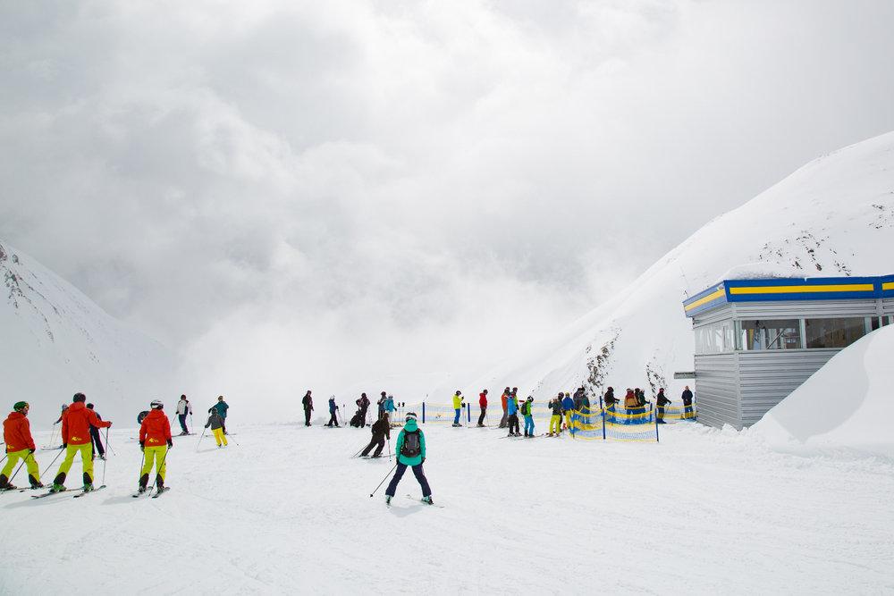 Im Skigebiet Serfaus Fiss Ladis im März 2017 - © Skiinfo