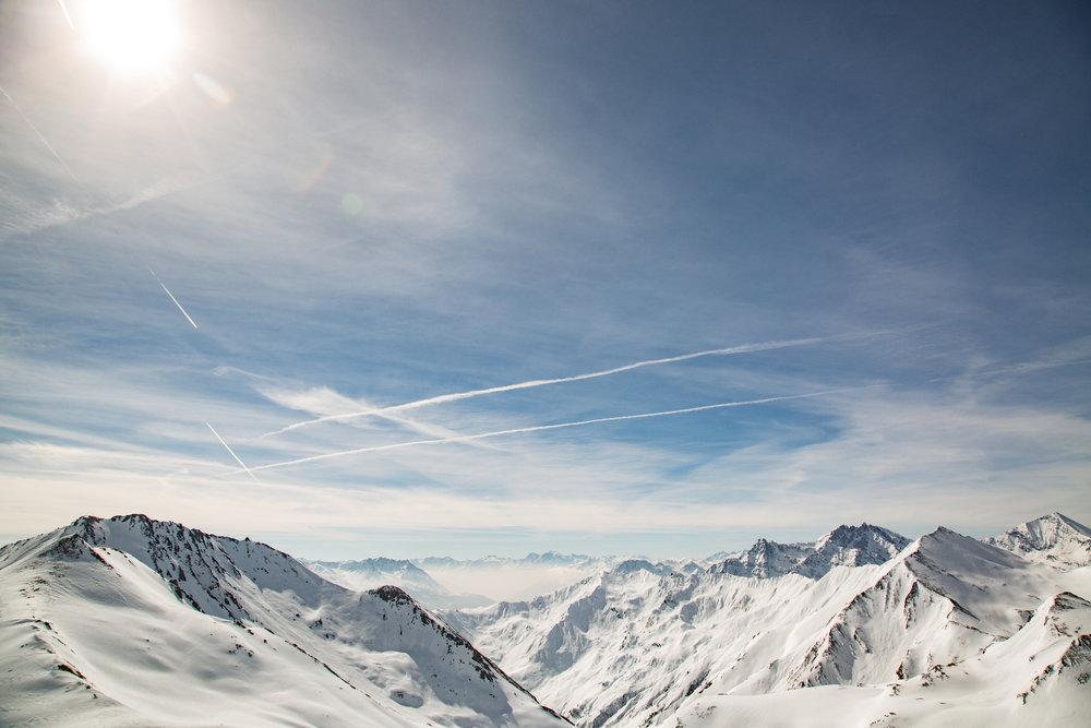 Wunderschöner Ausblick im Skigebiet Serfaus Fiss Ladis (20. März 2017) - © Skiinfo