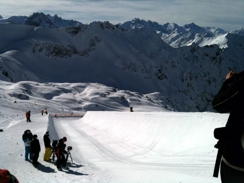 PipeAid Halfpipe in Oberstdorf
