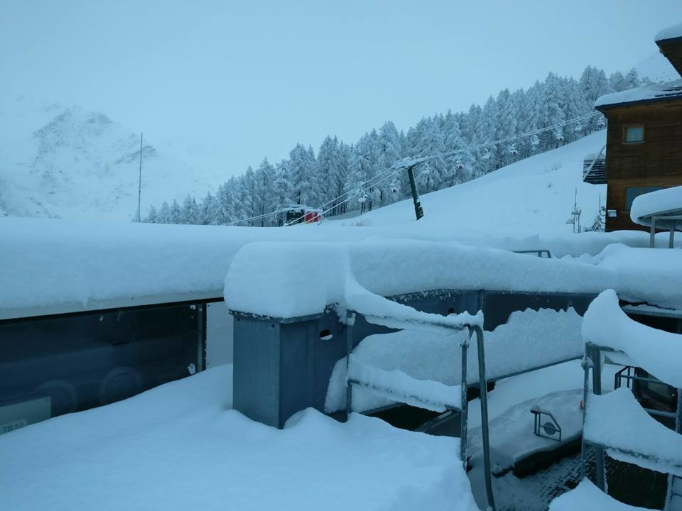 50cm of fresh snow in Bardonecchia March 26th, 2017 - © Bardonecchia Ski/Facebook