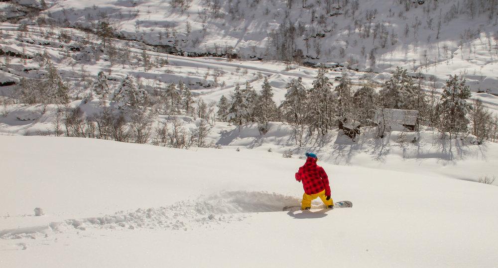 Den beste dagen i sesongen i Eikedalen Skisenter lørdag 18. mars?  - © Jan Petter Svendal