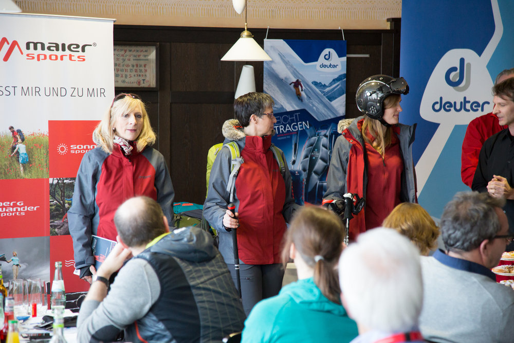 ISPO 2017 : Sur le stand Maier Sports - © Skiinfo
