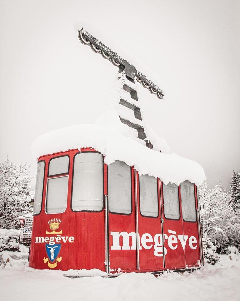 Retour de l'hiver à Megève (1er mars 2017) - © Megeve