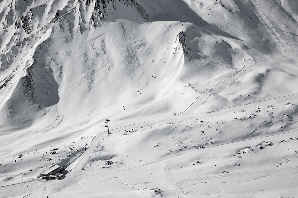 Utsikt fra gondolbanen Pezid i Serfaus Fiss Ladis - © Skiinfo