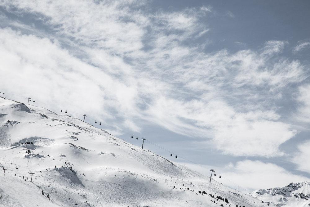 Serfaus Fiss Ladis i Østerrike mars 2017 - © Skiinfo