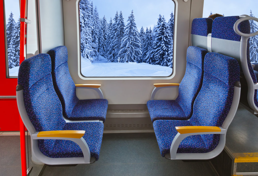 De nombreuses régions proposent des prix attractifs pour rejoindre les stations de ski en train depuis les principales villes environnantes - © Nikolai Sorokin - Fotolia.com