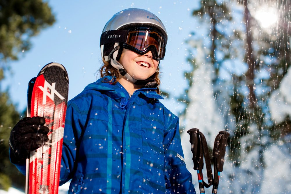 With warmer temps come happier extremities, and that's no small thing, especially for the kiddos. - © Big Bear Mountain Resort