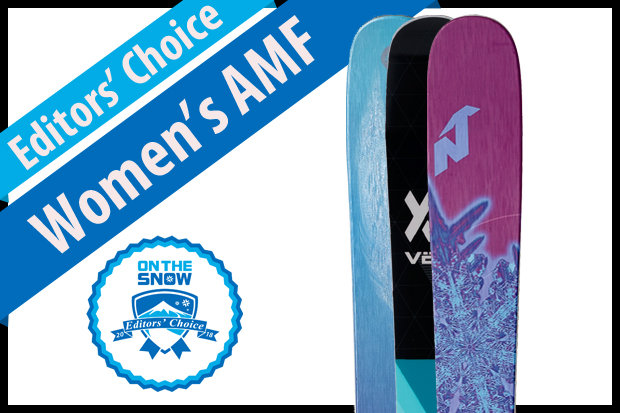 The best women's All-Mountain Front skis for 2017/2018.
