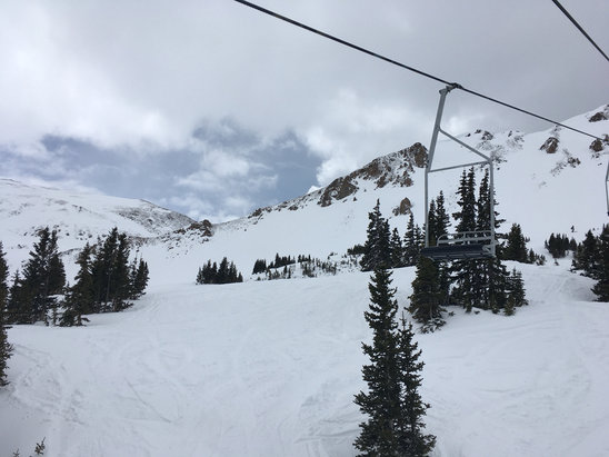 Loveland - Simply an amazing day at Loveland, soft fluffy and great snow. Spring skiing at a new level! - ©anonymous