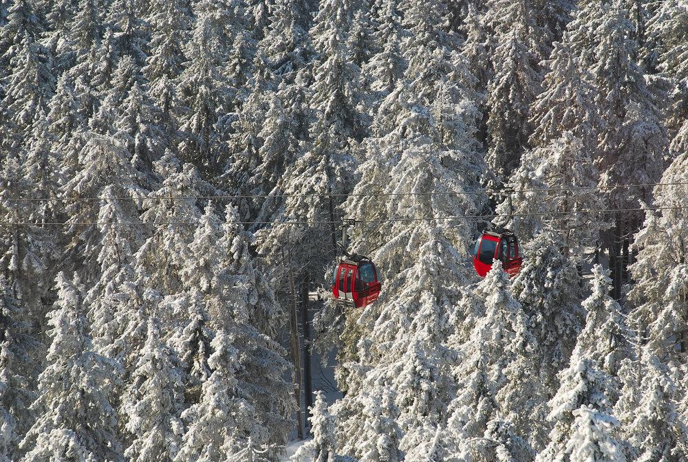 Die Wurmbergseilbahn im Harz (Braunlage) im Winter - © © Wurmbergseilbahn Braunlage