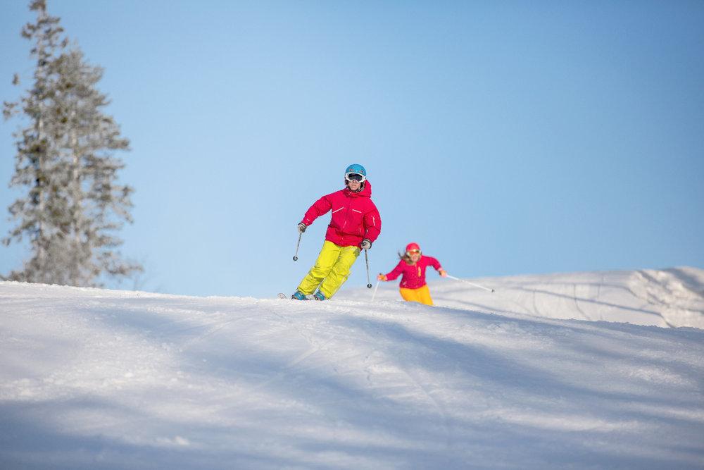 Skifahrer in Kungsberget (Schweden) - © Branäsgruppen