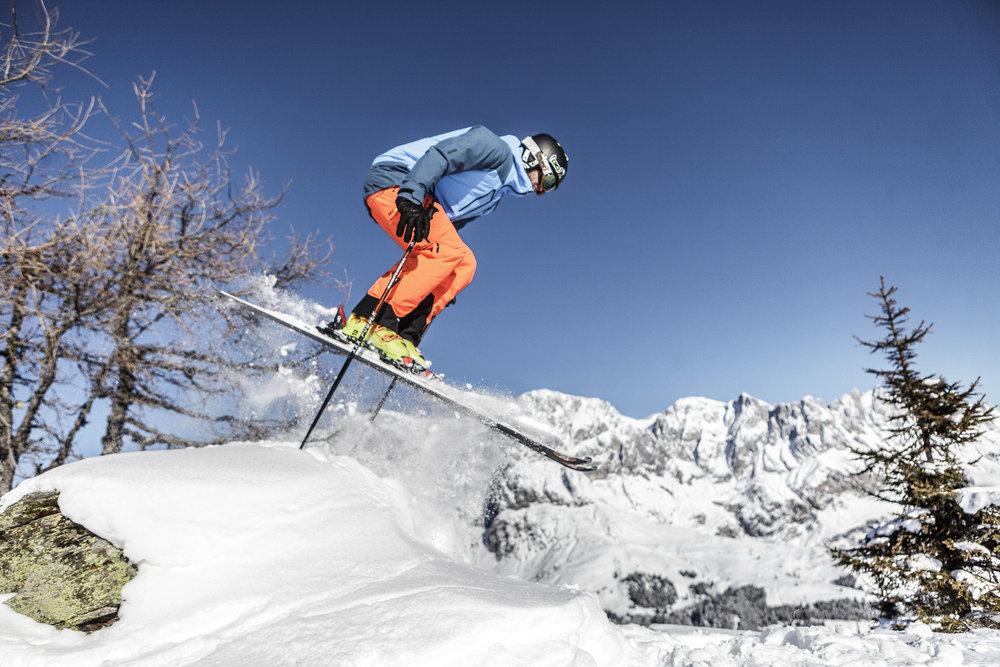 Das Skigebiet Hochkönig zählt zu den Freeride-Geheimtipps in Österreich - © Hochkönig Tourismus GmbH