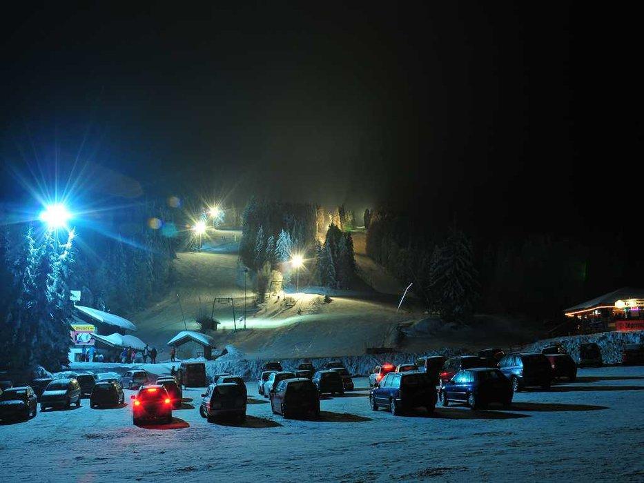 Flutlichtskifahren in Eck-Riedelstein