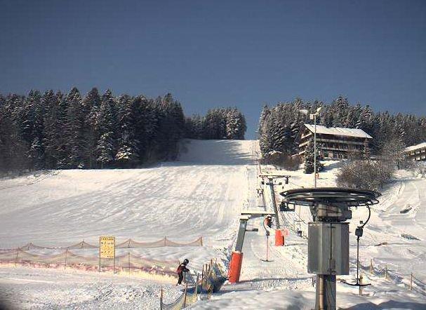 Skipiste des Skilifts Stockinger bei Freudenstadt
