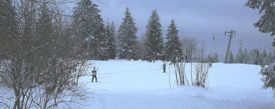 Skilift Kniebis bei Freudenstadt