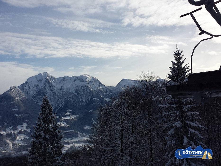 Schöne Ausblicke am Götschenkopf