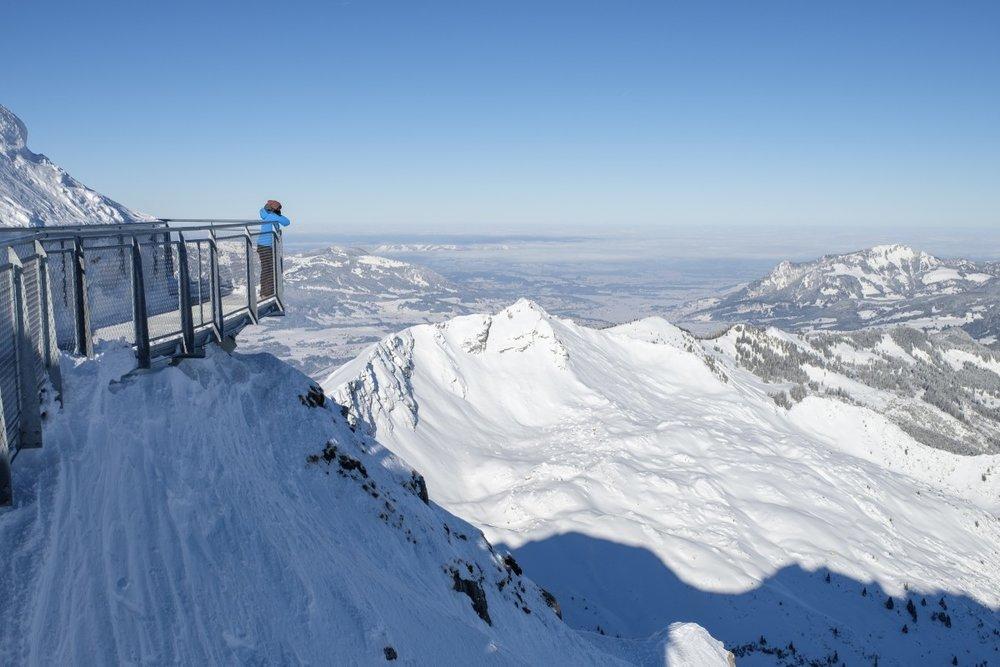 Aussichtsplattform am Nebelhorn - © Oberstdorf Kleinwalsertal Bergbahnen