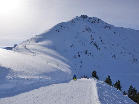 Wunderbare Aussicht im Skigebiet Champex-Lac - © www.champex.ch