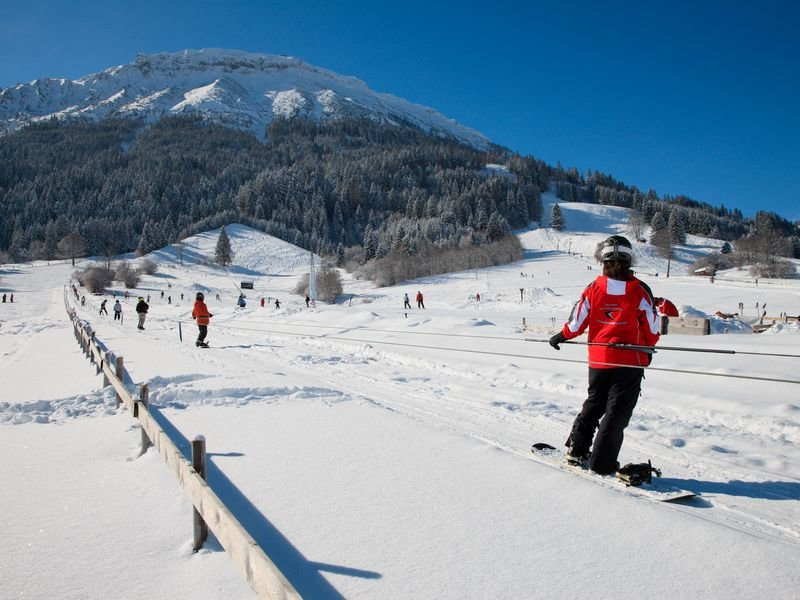 Anfänger-Lift im Skigebiet Skizentrum Pfronten - Steinach - © Skizentrum Pfronten Steinach