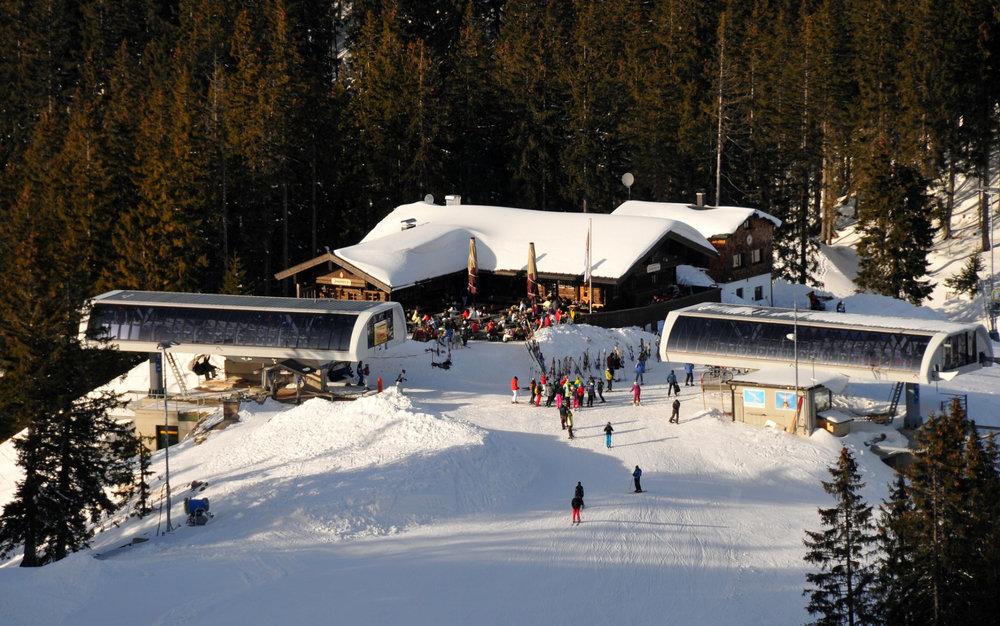 Bergstation Stümpfling im Skigebiet Spitzingsee - © Alpenbahnen Spitzingsee | Thomas Skankiewicz