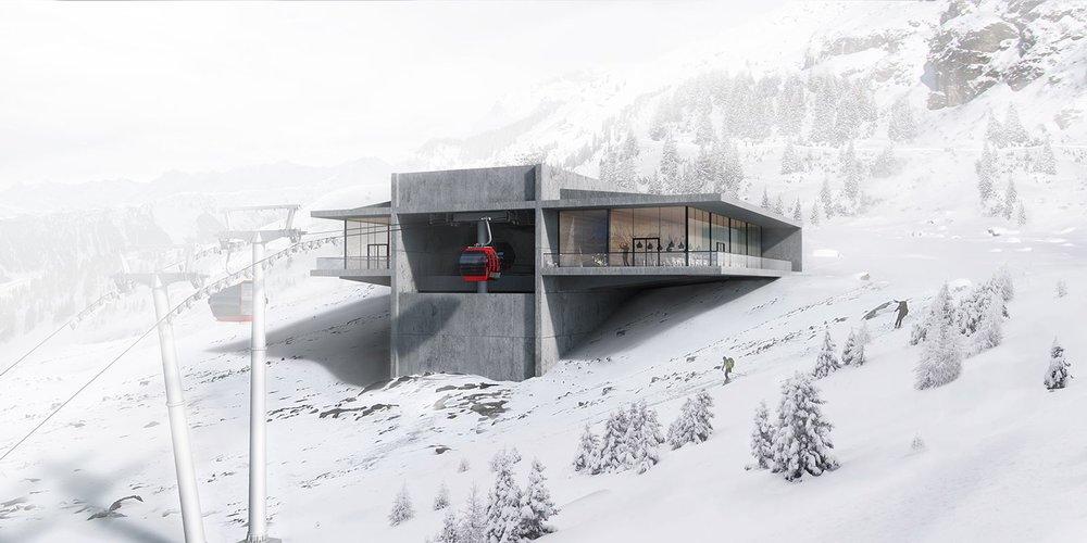 Im Dezember 2017 eröffnet die neue Patscherkofelbahn am Hausberg der Stadt Innsbruck. - © Tirol Werbung