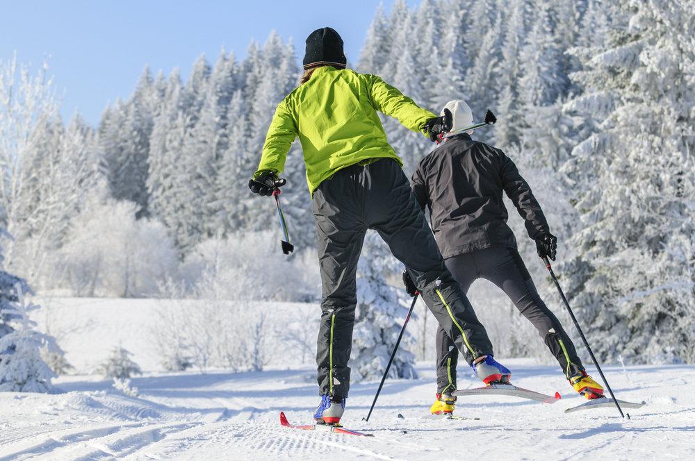 Ski de fond sur le domaine nordique de Bramans - ©ARochau - Fotolia.com