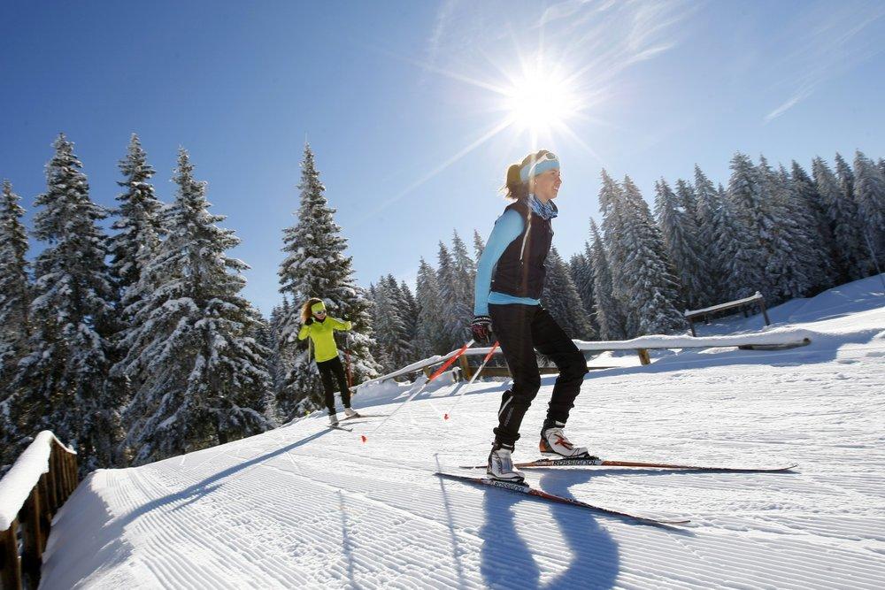 Ski de fond sur le domaine nordique du Col de Marcieu - ©Thomas Hytte / Stephane Cervos