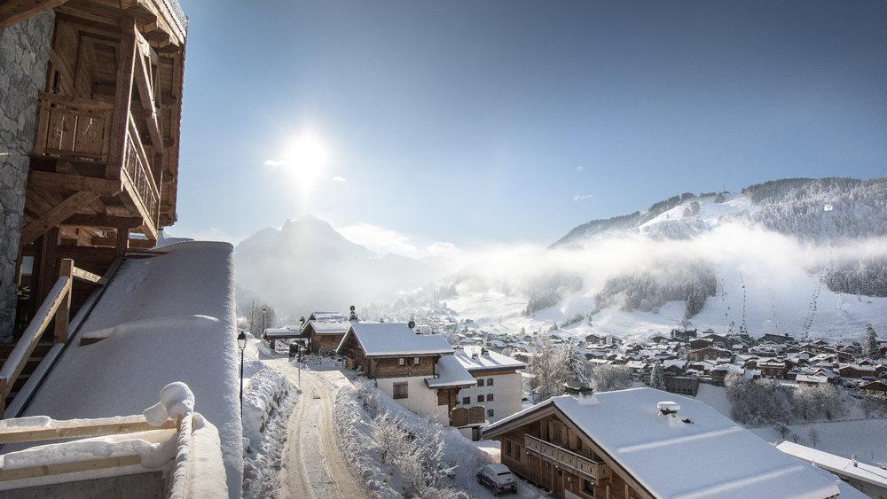Morzine conjugue l'authenticité d'un village de montagne et les équipements d'une station de ski internationale - © Jean Baptiste Bieuville