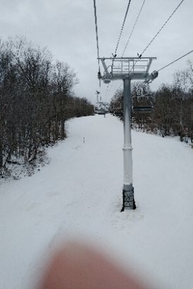 Gore Mountain - pretty good opening day. can't wait till more trails open - © mr jackpots