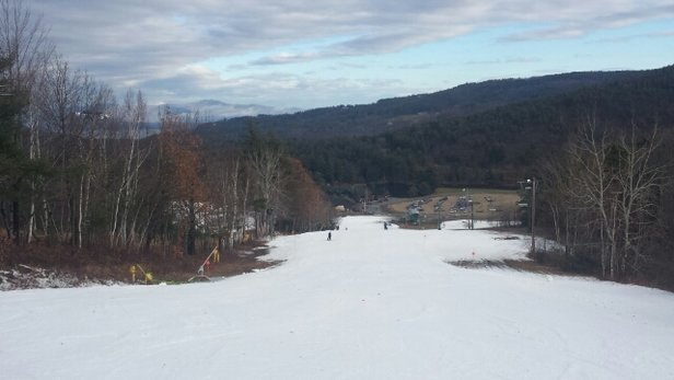 Gunstock - Not bad considering that it's 100% man made snow! - © johnwestport1