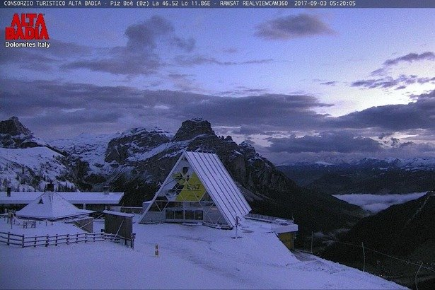 Alta Badia - september 2017 - © Alta Badia webcam
