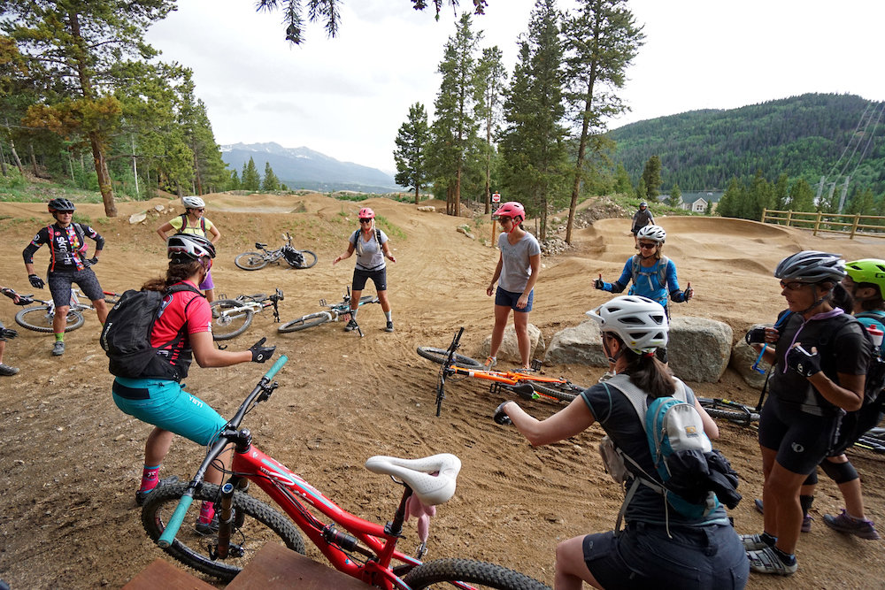 Breck Bike Week offers a variety of skills clinics and guided tours.  - © Louie Traub