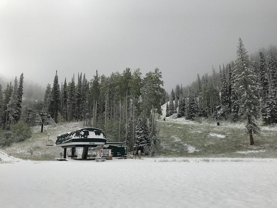 Deer Valley after a September snow.  - © Deer Valley